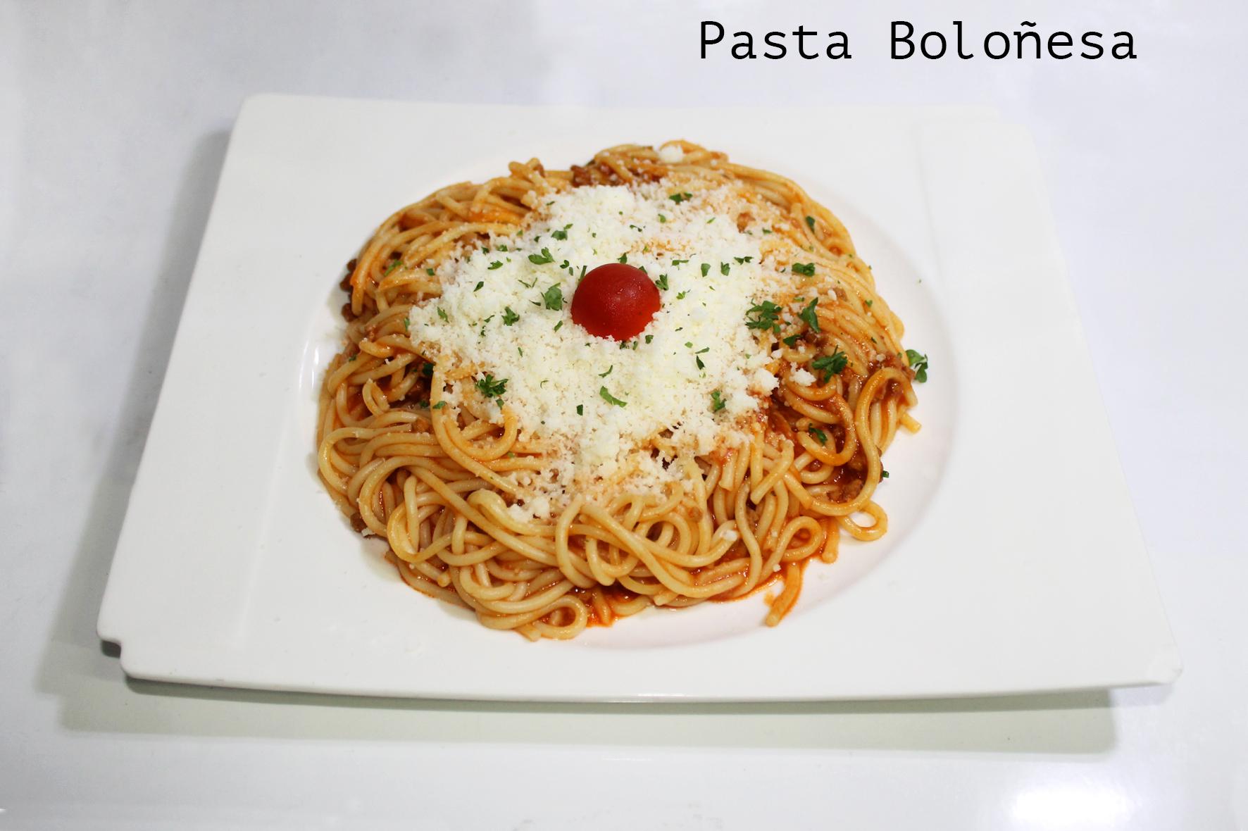 Pasta Boloñesa12